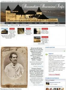 Basarabia-Bucovina.Info - proiect interactiv de recuperare vizuala a spatiului istoric romanesc